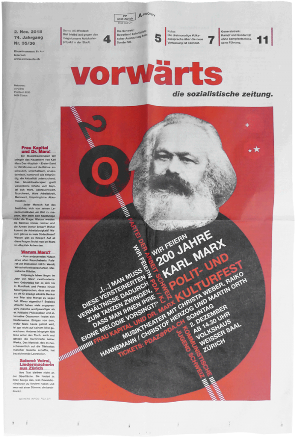 vorwaerts_karl_marx