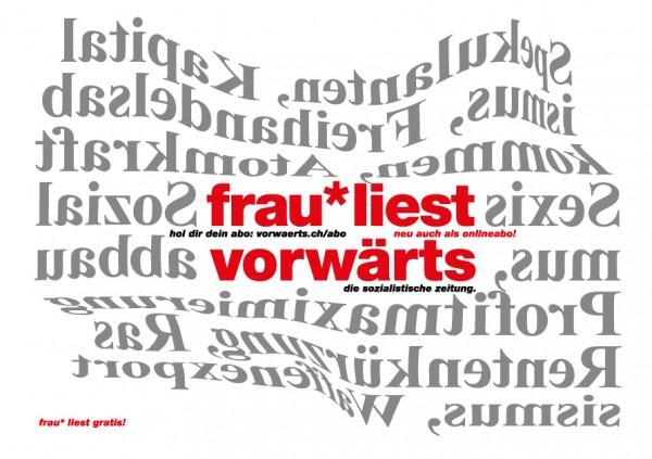 vorwärts-abokarte_frau_liest_gratis