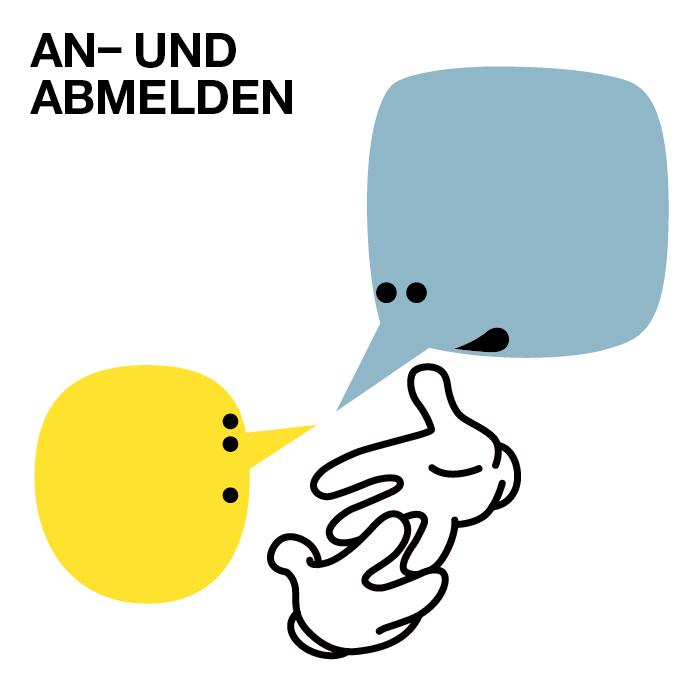 AN-ABMELDEN